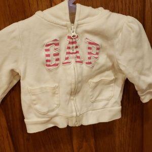 Baby Gap hoodie 3-6 month